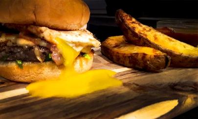 Runny Egg Burger