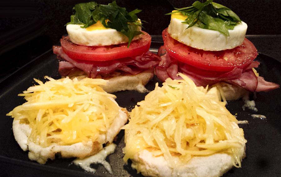 Grilled Cheese Breakfast Sammy's