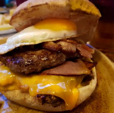 Loaded Meaty Burger