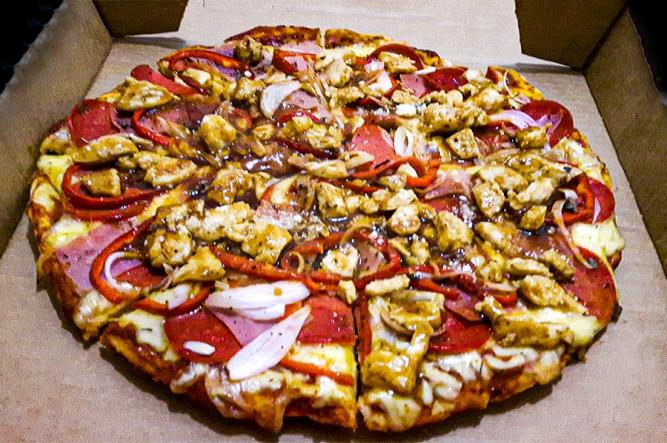 Guatemalan Pizza