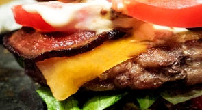 Burger Close Up